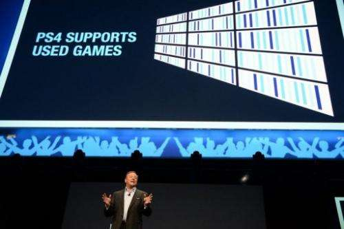 Jack Tretton, president and CEO of Sony Computer Entertainment of America, speaks in Los Angeles, on June 10, 2013