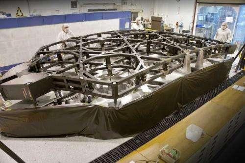 James Webb Telescope's last backbone component completed