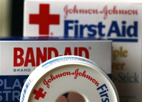 J&J Q1 profit falls 10 pct despite higher sales