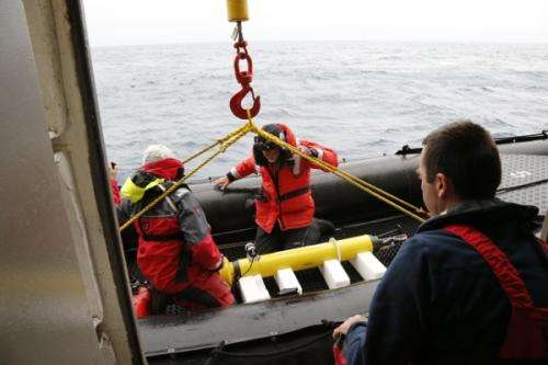 Keeping a float: Researchers gather data from high-tech float launched near Antarctica