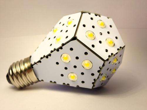 Kickstarter project team claims its LED bulb world's most efficient