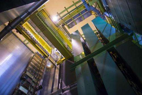 LHCb experiment observes new matter-antimatter difference