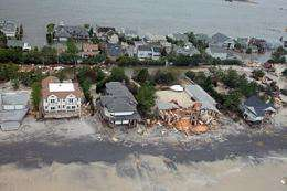 Life in New Jersey not yet normal after Sandy, poll finds