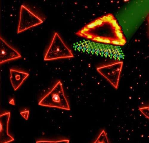 Light-emitting triangles may have applications in optical technology
