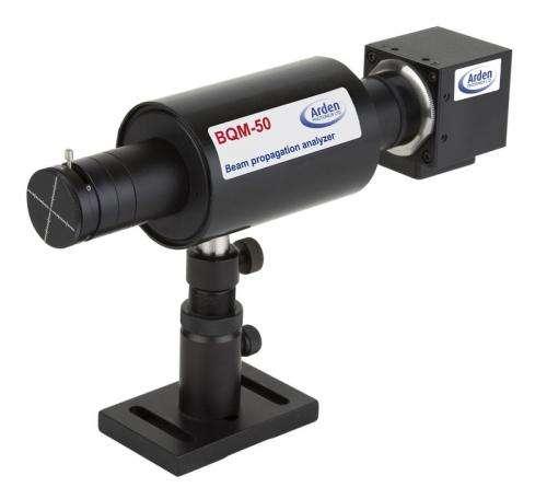 Liquid lens shrinks laser measuring device
