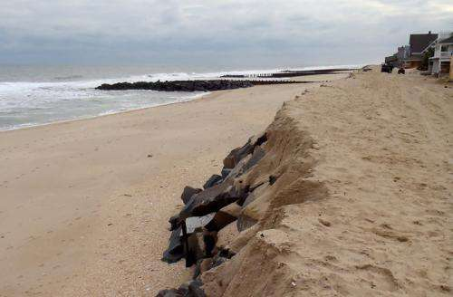 Long-forgotten seawall protected New Jersey homes from Hurricane Sandy's powerful storm surges