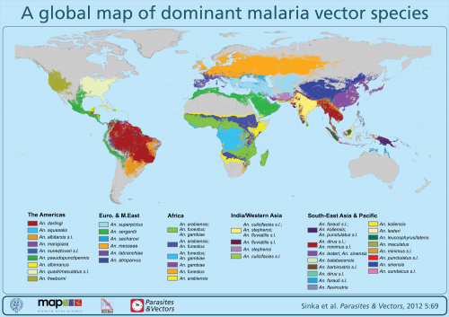 Malaria in the Americas presents a complex picture