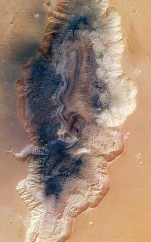 Martian scars