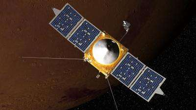 MAVEN spectrometer opens window to Red Planet's past