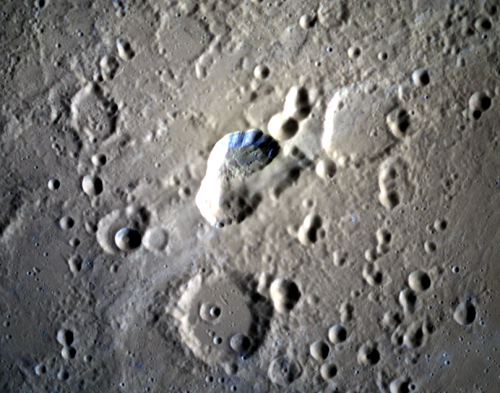 MESSENGER sees a smoother side of Mercury