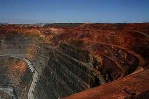 Meteorite impact structure reveals mineral deposit hotspots