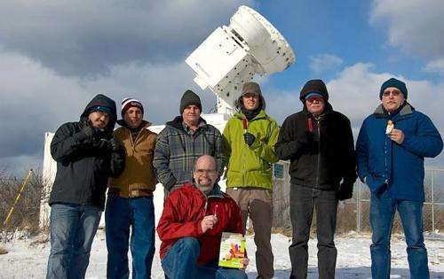 Mobile Aerosol Observing Units Deployed at Cape Cod