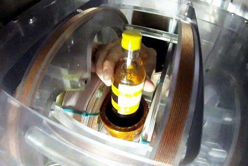 MRI breakthrough for screening liquids