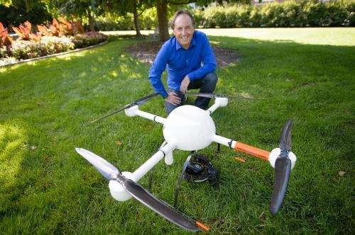 MSU lands first drone