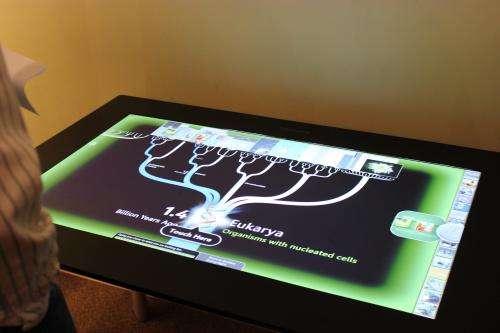Museum exhibit developed at Harvard SEAS puts evolution at visitors' fingertips