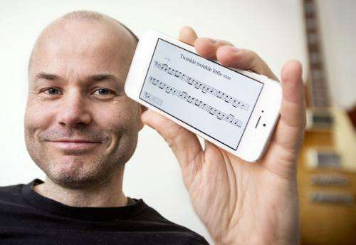 Musicians take note of tune-writing app