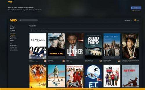 Music service Rdio launches Vdio for TV, movies