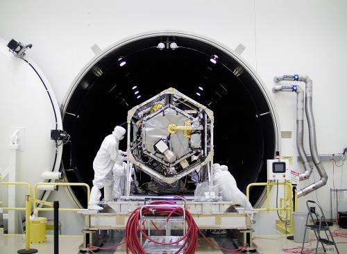 NASA Carbon Sleuth Gets Simulated Taste of Space