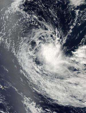 NASA catches glimpse of the brief life of Southern Indian Ocean's first tropical cyclone