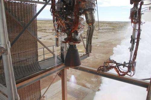 NASA Commercial Crew Partner Blue Origin Test-Fires New Rocket Engine