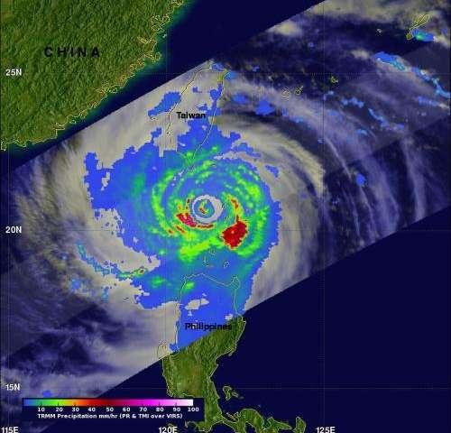 NASA sees deadly typhoon usagi hit southern China