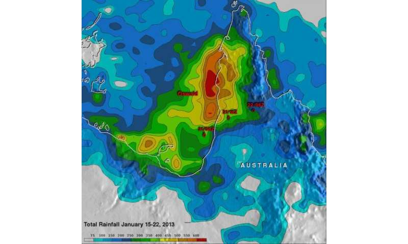 NASA sees massive rainfall totals from Tropical Storm Oswald