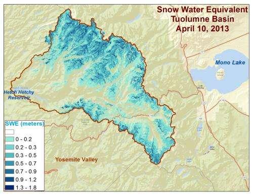 NASA Snow Mapper Reaps Big Benefits for California