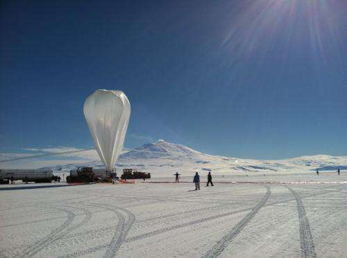 NASA Super-TIGER balloon shatters flight record