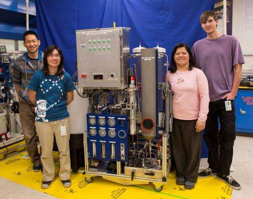 NASA Targets Water Recycling System for Rapid Development