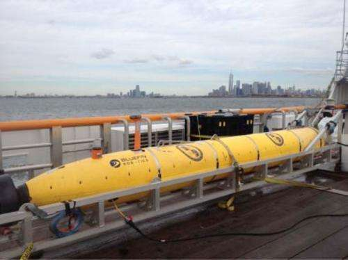 Navy 'Mine-hunter' AUV sets mission endurance record