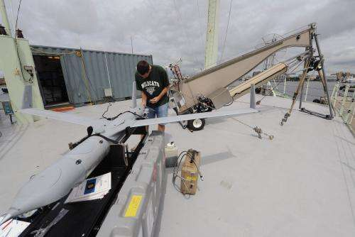 Navy turns to UAVs for help with radar, communications