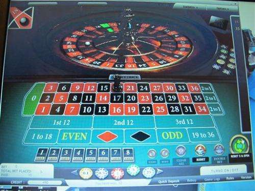 New Jersey OKs Internet gambling for 6 casinos
