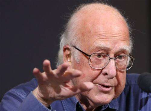 Nobel winner Higgs plans to retire next year