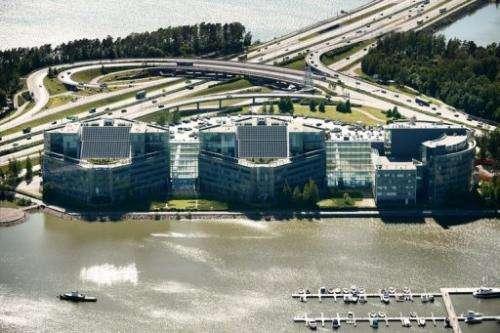 Nokia's headquarters at Espoo, Finland on June 14, 2012