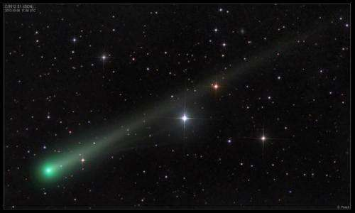 NRL-Developed Telescopes Await the Approaching Comet ISON