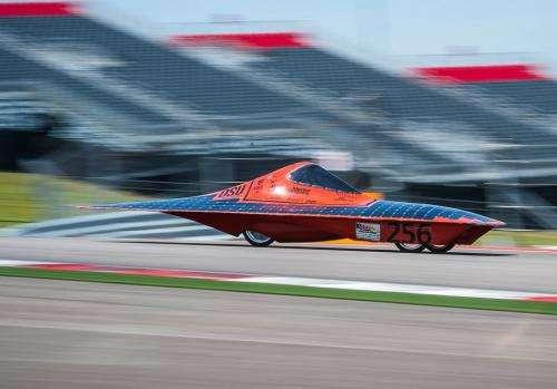 OSU solar vehicle wins Formula Sun Grand Prix