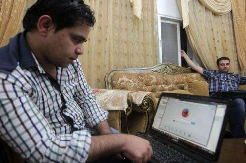 Palestinian researcher Khalil Shreateh, who hacked into Facebook chief Mark Zuckerberg's profile, August 20, 2013