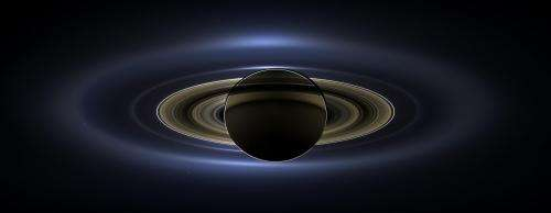 Image: NASA Cassini spacecraft provides new view of Saturn and Earth
