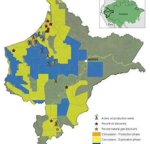 Potential of best practice to reduce impacts from oil and gas projects in the Amazon