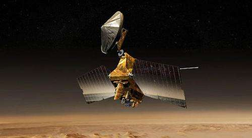 Prolific NASA mars orbiter passes big data milestone