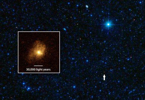Rare galaxy found furiously burning fuel for stars