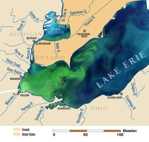 Record-breaking 2011 Lake Erie algae bloom may be sign of things to come