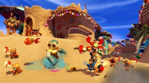 Review: New 'Skylanders' divide and conquer