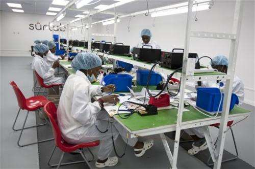 Rival tablet manufacturers launch in Haiti