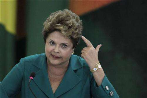 Rousseff wants Web servers to be housed in Brazil