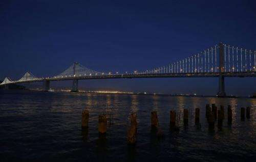 San Francisco's 'other' bridge prepares to shine