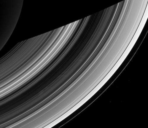 Saturn to shed its spooky spokes for summer