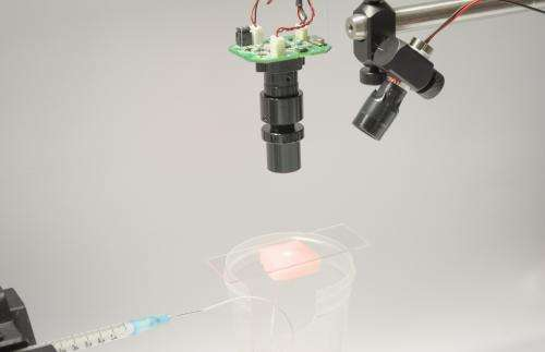 Scientists rig hospital-grade lightweight blood flow imager on the cheap