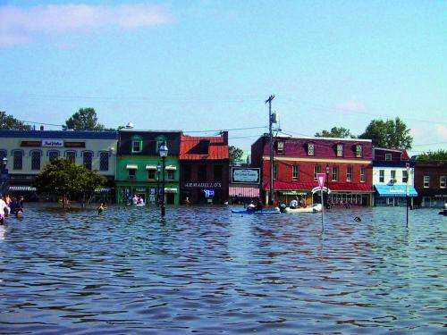 Sea level along Maryland's shorelines could rise 2 feet by 2050, according to new report