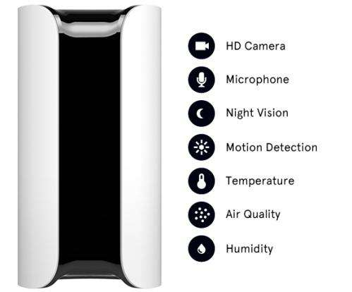 Smart home security device gets even smarter over time